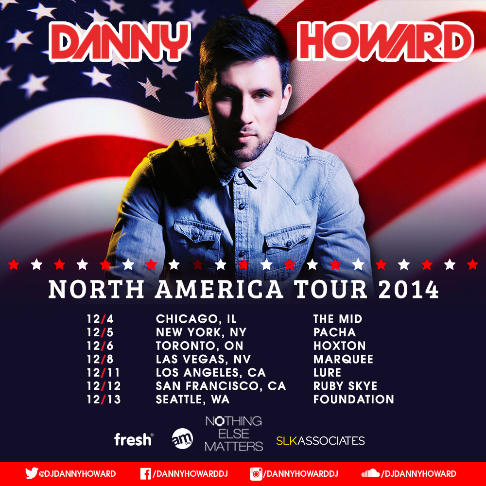 Danny prepares to show North America that Nothing Else Matters… But The Music